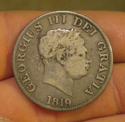 Great Britain - 1819 Silver Half Crown