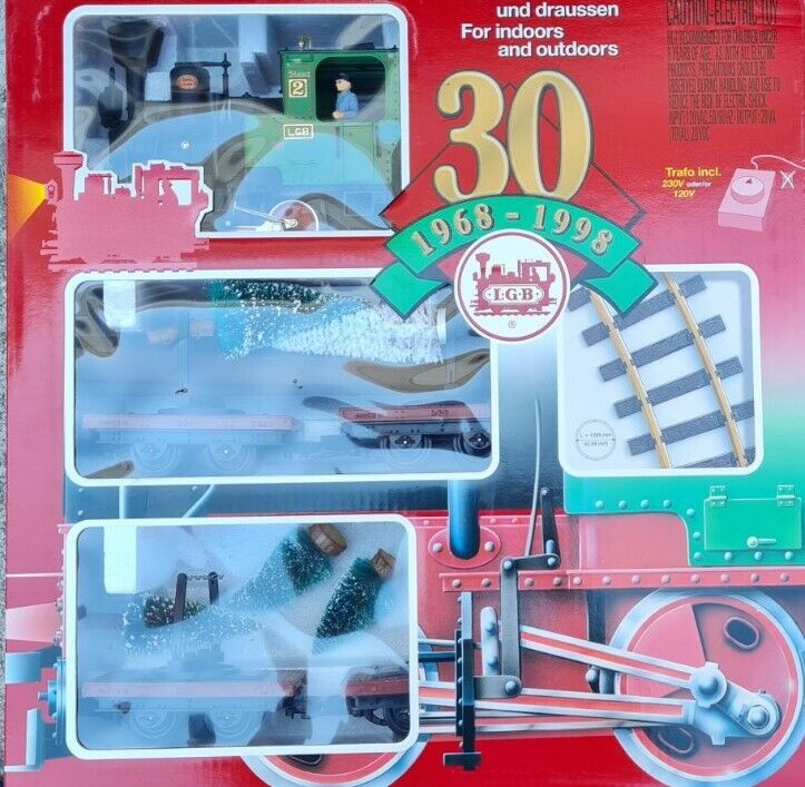 LGB 73968 Limited Edition 30th Anniversary Train Starter Set