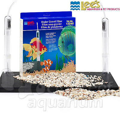 Lees Undergravel Filter - Under-Gravel Aquarium Filter Lee's Original UGF 13240 40/55 Gallon 48