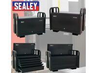 SEALEY TOOLS PTB91505 JOBSITE BOX 5 DRAWER SITE BOX HEAVY-DUTY TRUCK BOX VAN BOX