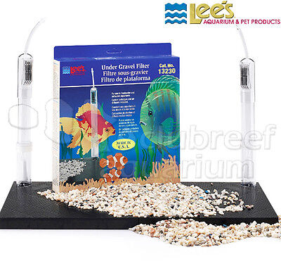 "Under-Gravel Aquarium Filter Lee's Original UGF 30 Gallon Long 36"" x 12"""
