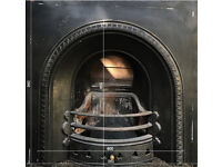1930s fireplace insert and surround