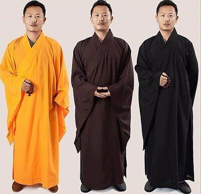 Buddhist Robe Men Women Frock Buddhist Supply Long Meditation Clothing Monk - Monk Clothes