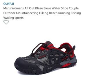 Men's water hiking shoes Brand New