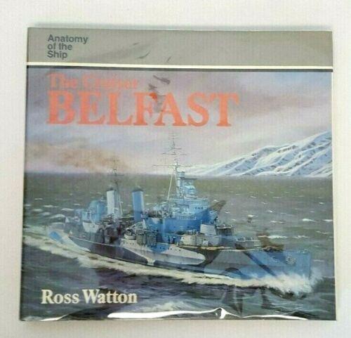 Anatomy of the Ship WWII British Cruiser BELFAST (1985) Ross Watton HC Book