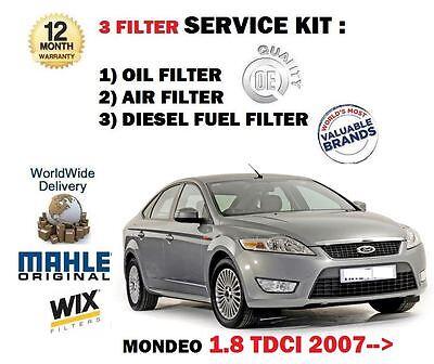 pour Ford Mondeo 1.8 TDCI 6/2007- > NEUF KIT DE SERVICE