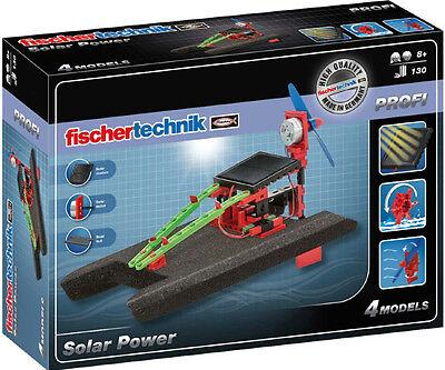 Fischertechnik 533875 - PROFI Solar Power   Erneuerbare Energien Baukasten