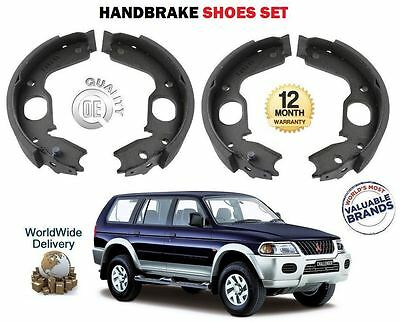 Mitsubishi Pajero Sport 2.5 TD Genuine Mintex Rear Handbrake Shoe Accessory Kit