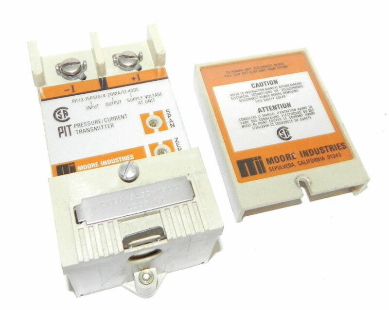 MOORE INDUSTRIES PRESSURE/CURRENT TRANSMITTER, LWLC-6132-W511