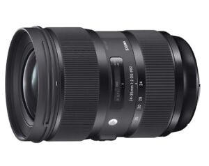 Sigma 24-35mm art lens for Canon