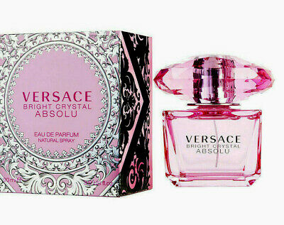 Versace Bright Crystal Absolu 3.0 EDP Perfume For Women New In Box