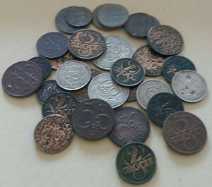 Poland 29 coins from 1923 - 1945