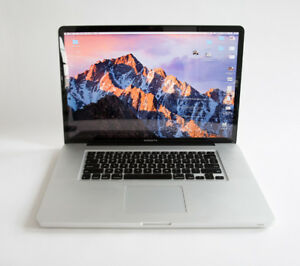 "MAC BOOK PRO 17"" - rare model, ideal for graphic design/video"