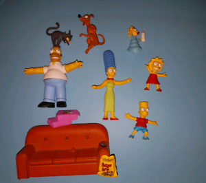 The Simpsons Figures (Stackable + Couch)