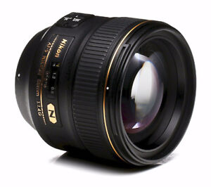 Nikon 85mm AFS 1.4G in Mint Condition