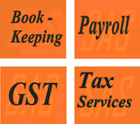 Bookkeeping, Accounting, Payroll, GST, and Tax Services