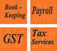 Bookkeeping, GST, Payroll, & Professional Tax Services