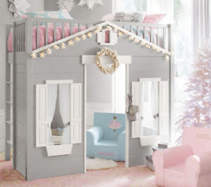 ISO Pottery barn play loft bed