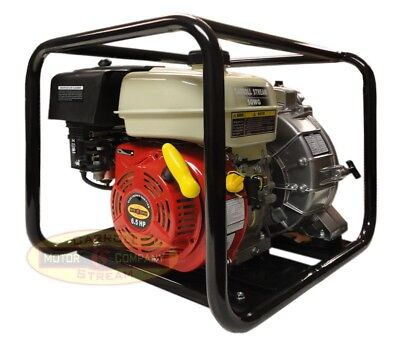 2 Gas Water Pump Full Trash Pump 6.5 Hp 2 Inch Inlet Outlet Npt New Pool Marine
