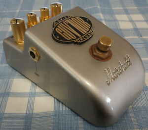 Marshall Guv'nor (GV-2) stomp box effects pedal