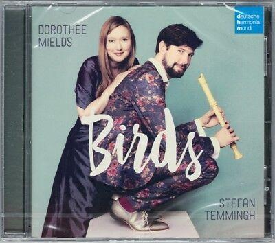 Dorothee MIELDS & Stefan TEMMINGH: BIRDS Rameau Handel Arne Couperin Vivaldi CD