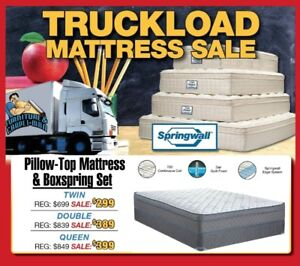 TRUCKLOAD - MATTRESS SALE !!