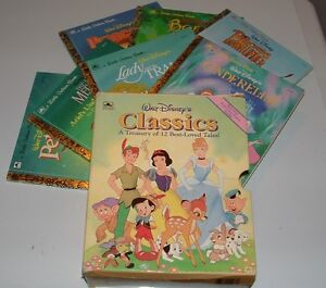 Little Golden Books - set of SEVEN with CASE