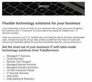IT Services - Computer Services - Computer Repair