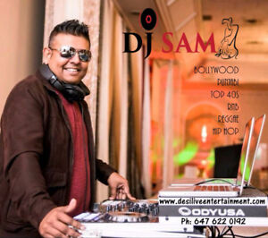 DJ Sam available for Weddings and other events