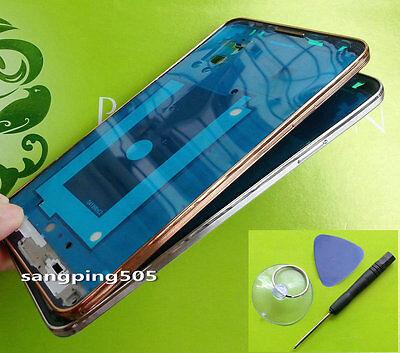 E-Samsung Galaxy Note 3 N900 / N900A / N9005 Housing Faceplate Bezel Front Frame