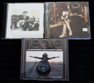 """(3) NEIL YOUNG CD's, & """"Waging Heavy Peace"""" BOOK by NEIL YOUNG"""
