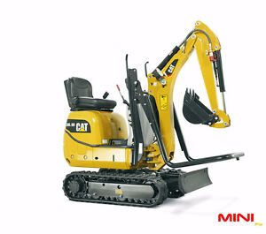 MINI TRACK HOE FOR RENT AT READY TO RENT EQUIPMENT!
