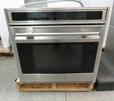 "Wolf Stainless Single 30"" Built in In Wall Oven SO30FS"
