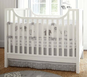 Pottery Barn Kids fitted sheets and skirt