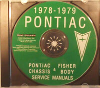 cd-rom pontiac 78-79-manuel shop