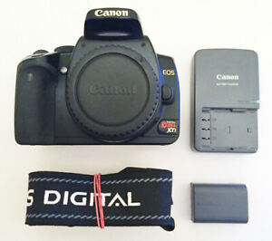 Canon XTi body 50mm 17-85mm IS 18-55mm G15 & more