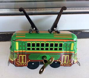 Replica Wind Up Trolley - San Francisco