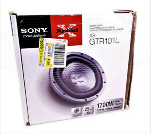 subwoofer Sony xs-gtr101l comme NEUF seulement 99.95$ !!!