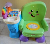 Chaise musicale interactive *FISHER-PRICE*