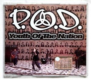 P.O.D. YOUTH OF THE NATION cd single POD crossover Korn Limp Bizkit - Porto Potenza Picena, Italia - L'oggetto può essere restituito - Porto Potenza Picena, Italia