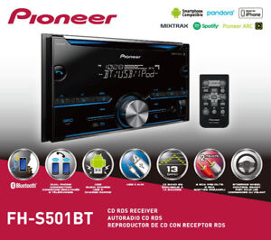 Pioneer FH-S51BT Bluetooth Double Din Sized Receiver