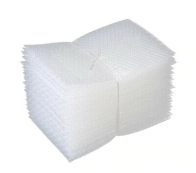 100pcs New 150x200 Mm Bubble Wrap Bags Pouches Packaging Pe Mailer Packing