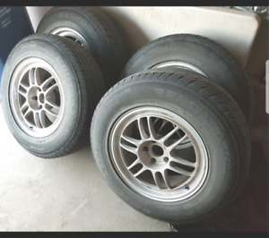 [5-bolt] 245/70/R17 - 17 inch Rims including all season tires!