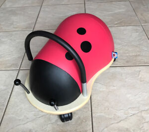 Original Wheely Lady Bug LARGE Prince Lionheart almost new