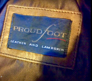 ProudFoot Leather and Lambskin Jacket