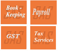 Bookkeeping, GST, Payroll, & Professional Tax Services -