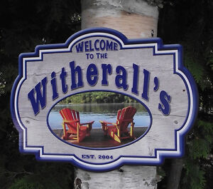 SIGNS FOR YOUR CAMPSITE London Ontario image 2
