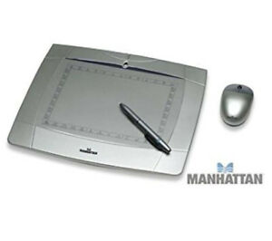 Manhattan Graphics Tablet, Stylus & Mouse