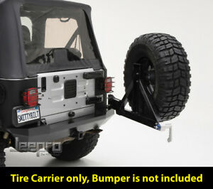 SmittyBilt XRC Rear Swing Away Tire Carrier Fits Jeep 87-06 Wrangler YJ TJ LJ