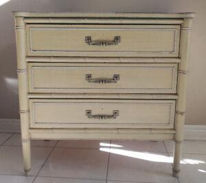 Vintage Bamboo dresser / shelf